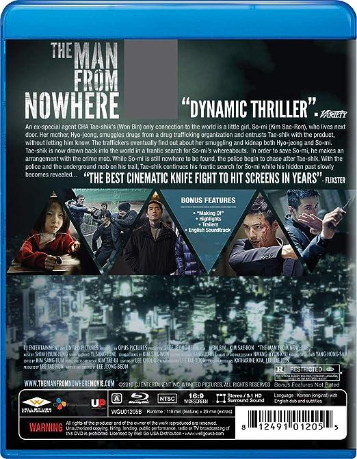Man From Nowhere Edizione: Stati Uniti Reino Unido Blu-ray ...