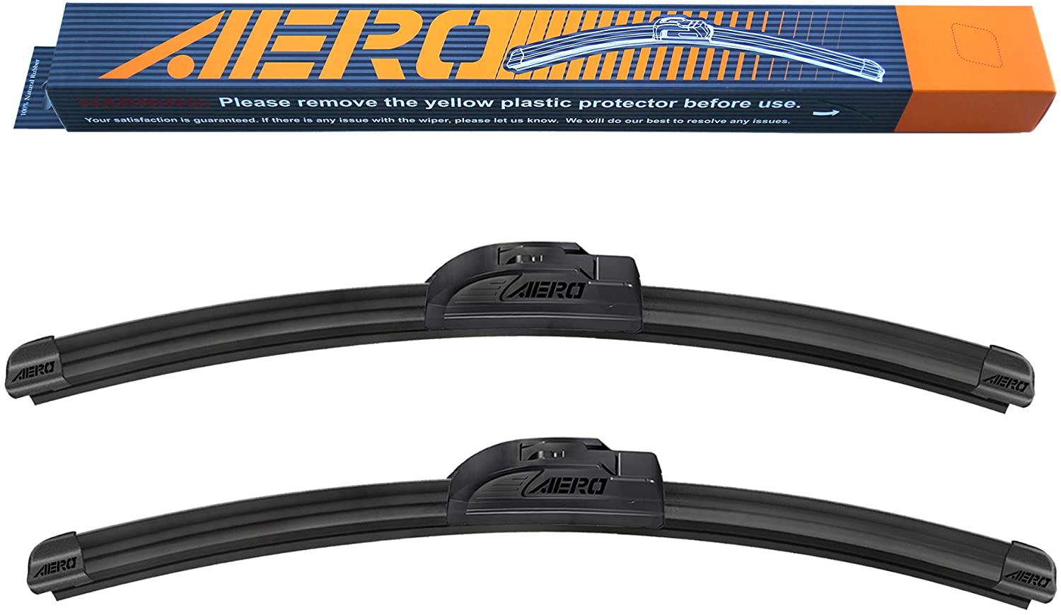 "AERO 26"" + 18"" OEM Quality Premium All-Season Beam Windshield Wiper Blades"