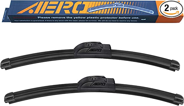 HONDA ACCORD Windscreen Wiper Blades x 2 Front Set Fits To REG 2003 TO 2008
