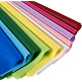 120-Pack Assorted Tissue Paper - Colored Tissue Paper, Perfect for Gift Bags, DIY Crafts, 10 Colors Included, 19.7 x 26 Inches