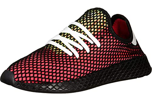 cheap for discount 98bd2 28cf0 adidas Deerupt Runner Scarpe da Ginnastica Uomo, Rosso Shock Red Real  Lilac Core