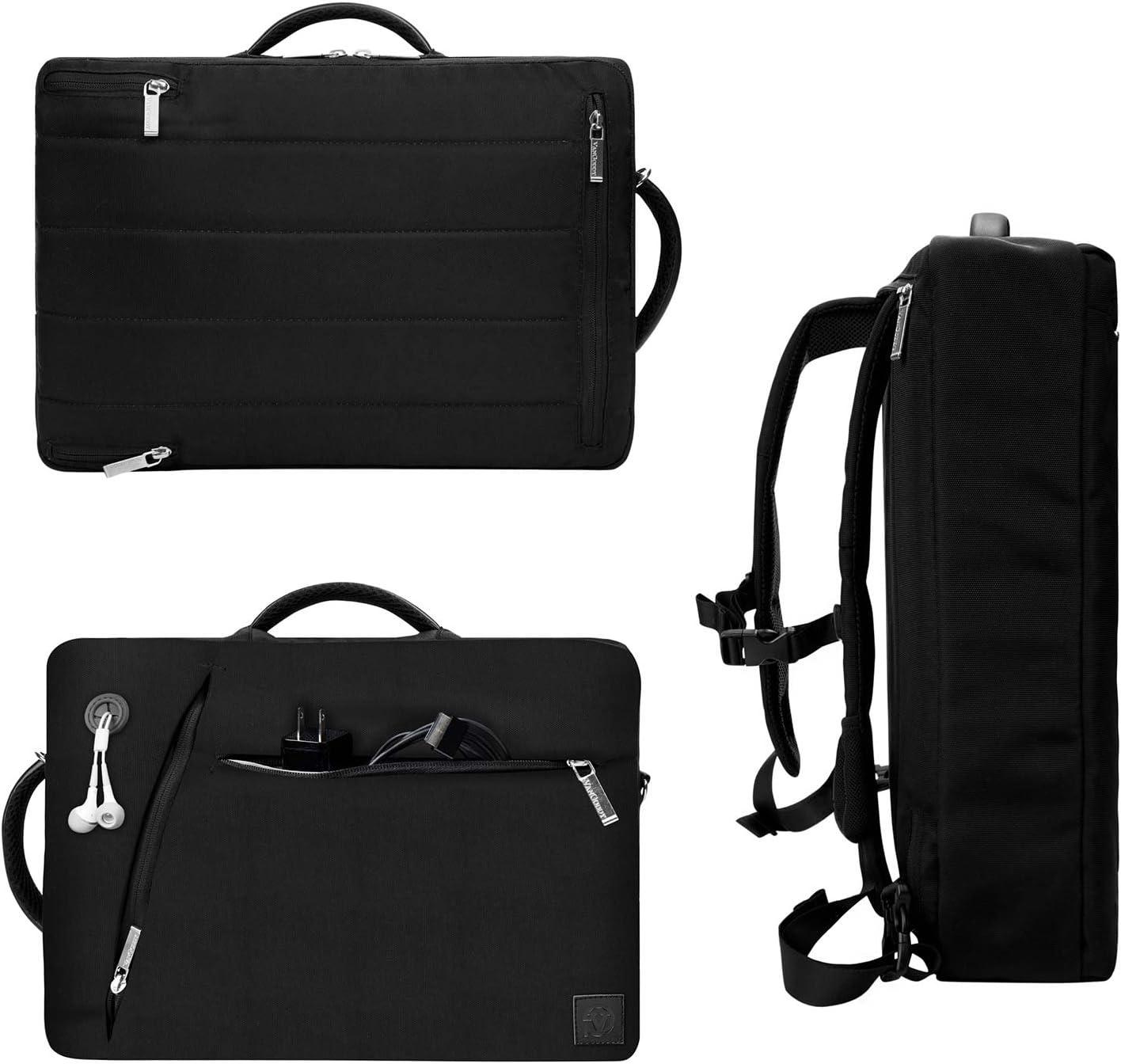 Vangoddy Waterproof Business Backpack Messenger Bag Briefcase for MSI 15.6 inch Laptop Grey