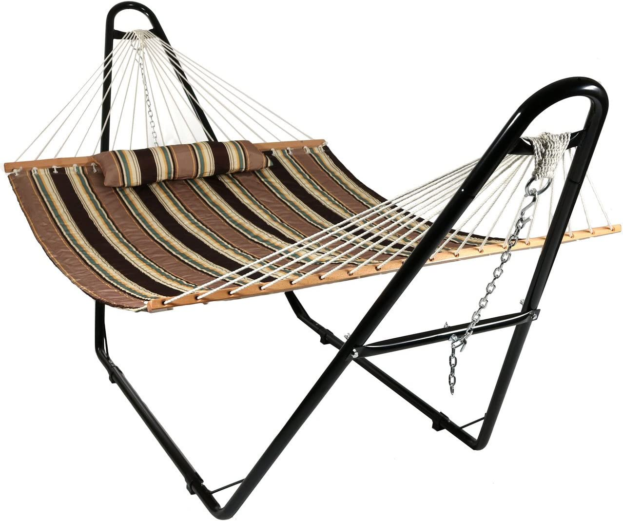 Sunnydaze Double Quilted Fabric Hammock