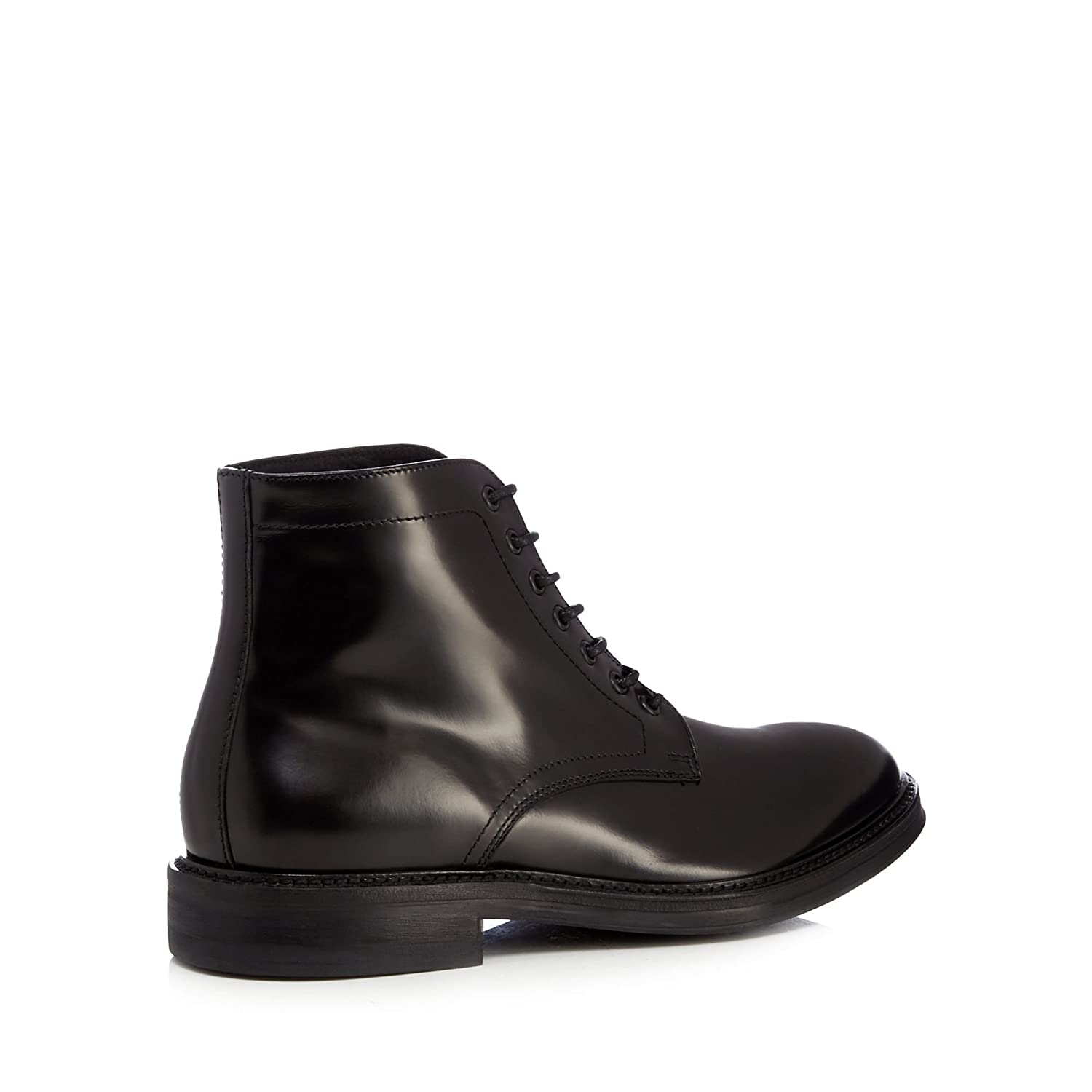 6ca3ada75c8 Debenhams Hammond & Co. by Patrick Grant Men Black 'Albans' Leather Ankle  Boots