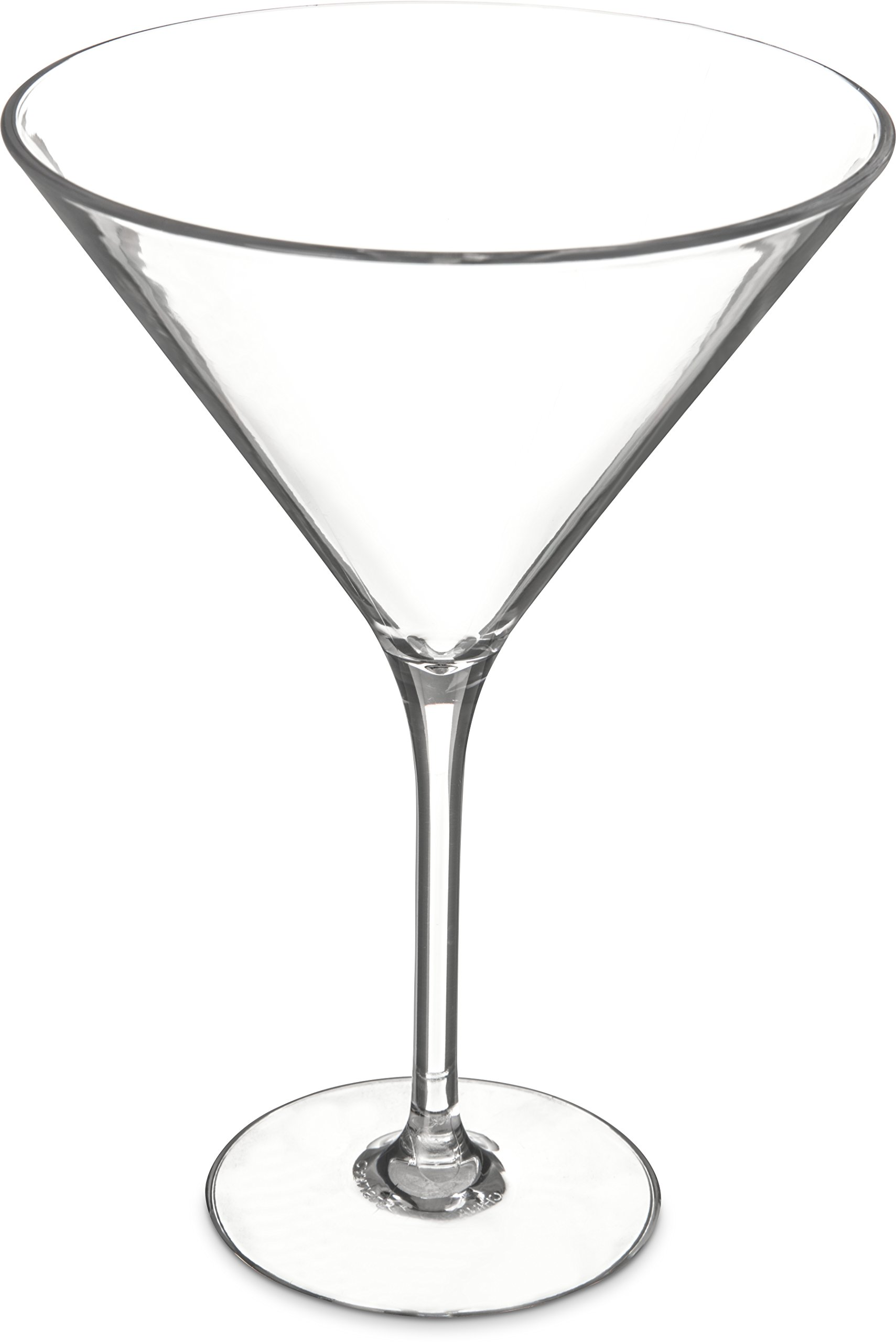 Carlisle 564607 Alibi Shatter-Resistant Plastic Martini Glass, 9 oz (Set of 24)