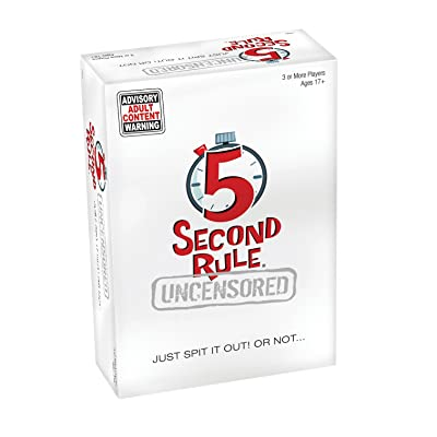 PlayMonster 5 Second Rule Uncensored Game: Toys & Games
