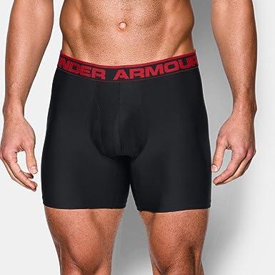 Under Armour O Series 6/'/' BoxerJock 2 Pack Men/'s Underwear Black SM 1282508 001