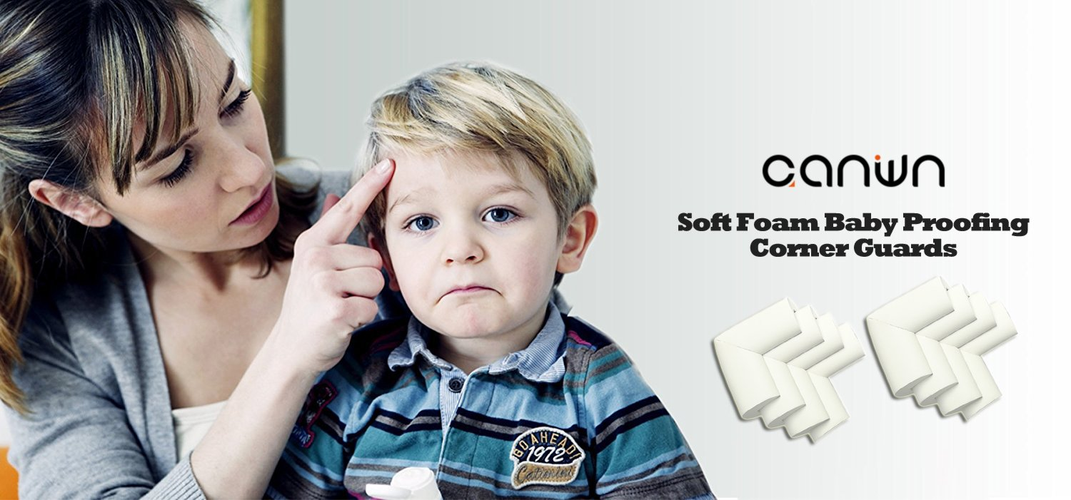 Corner Protectors No Smell Child Safety Right Angle Soft Foam Corner Guards for Baby Proofing Child Safety