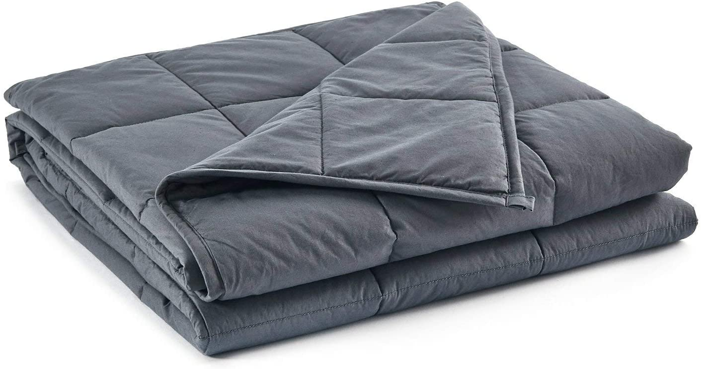 "60/"" x80/"" Weighted Blanket  Full Queen Size Cozy Promote Deep Sleep 20lb"