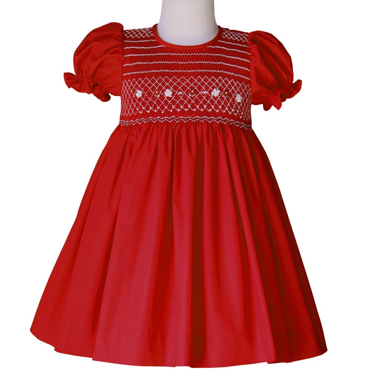 Smocked Christmas Dresses