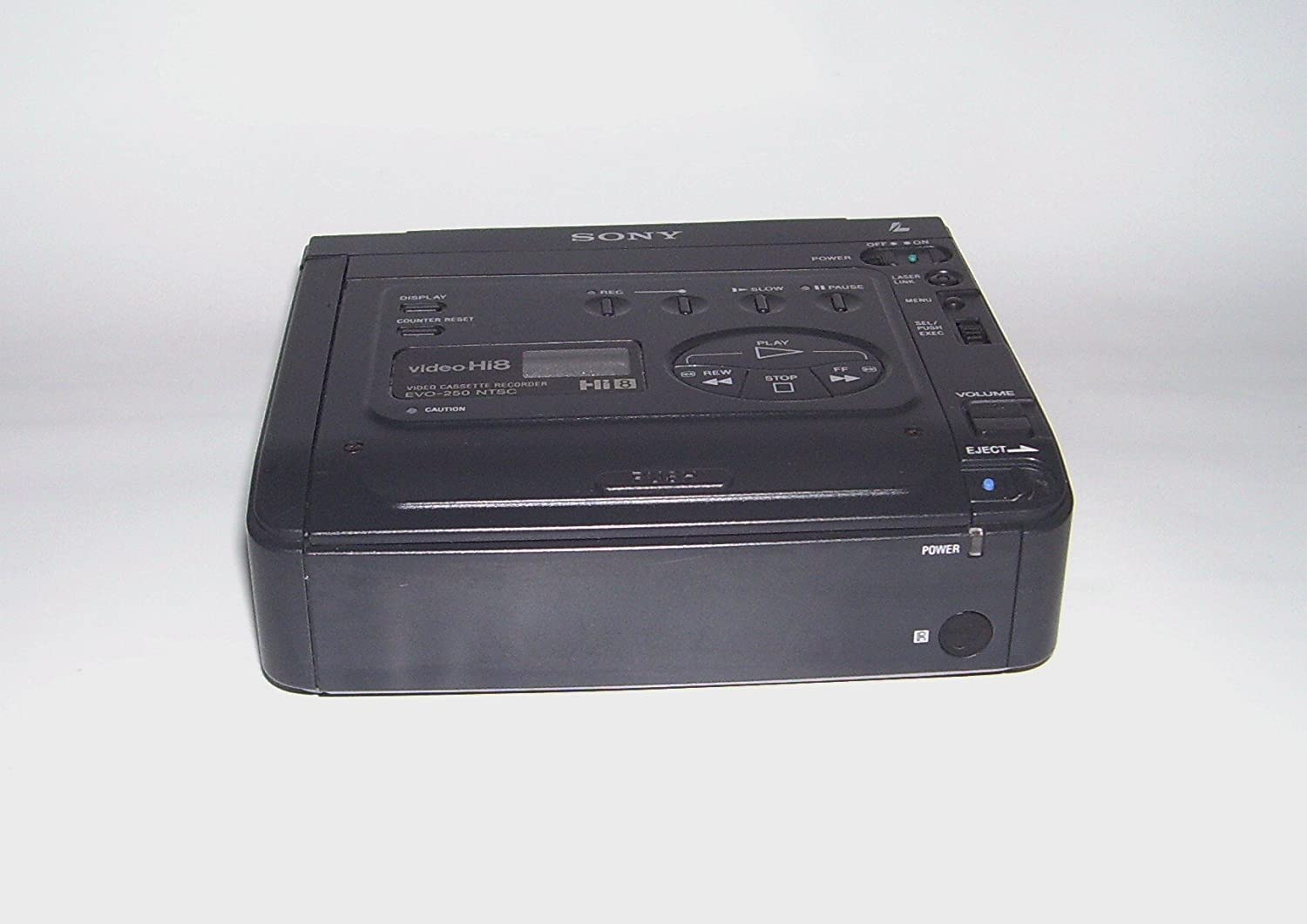 Sony Hi8 NTSC analog stereo Video casseyye recorder player sony EVO-250