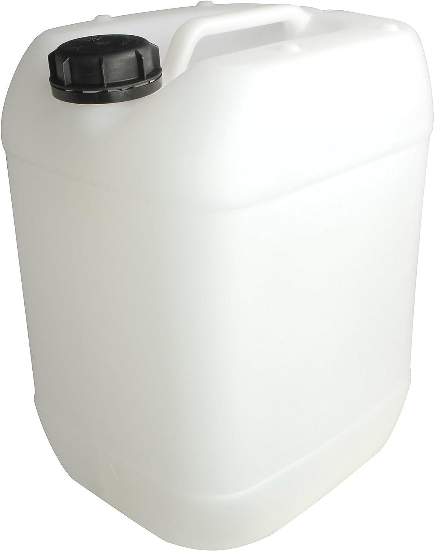 4 Stück 5 Liter Kanister natur Camping Plastekanister Wasserkanister NEU DIN51.