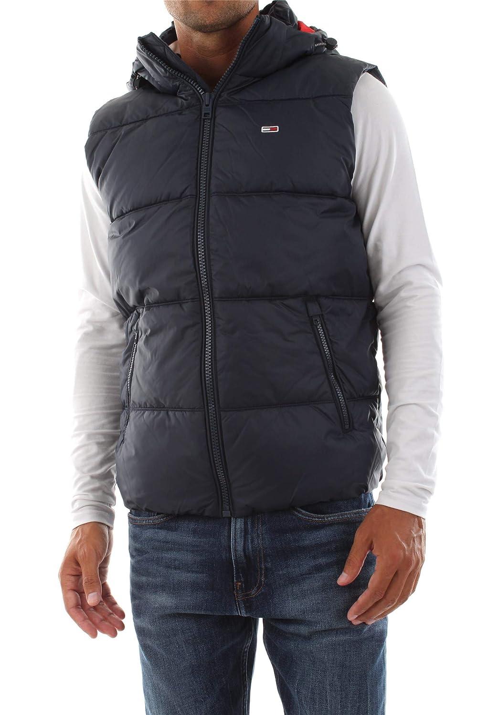 Tommy Hilfiger TJM Essential Hood Puffa Gilet Camiseta sin Mangas para Hombre