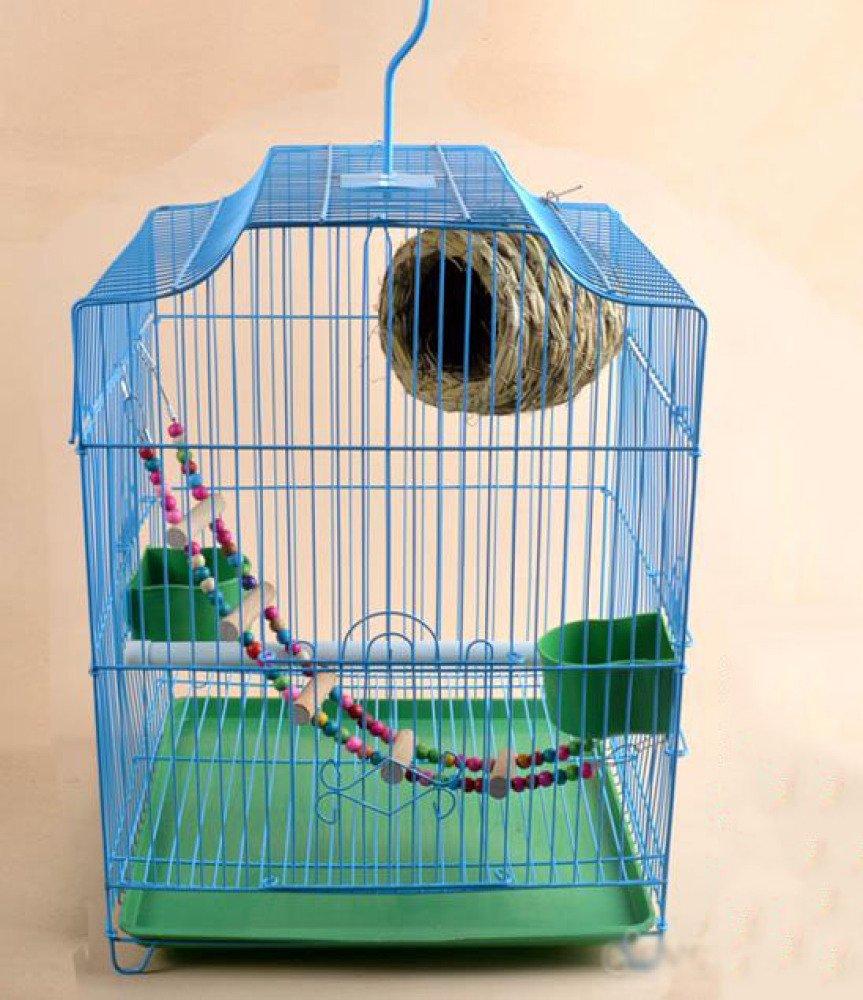 WCP Gabbia per uccelli - Gabbia per uccelli pappagallo Generale - Gabbia per uccelli in gabbia per uccelli,C,metallo
