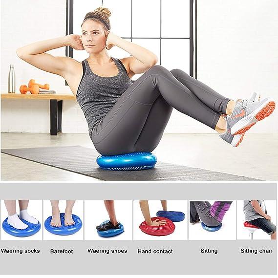 Amazon.com: TeAmo-Link Balón de equilibrio de disco ...