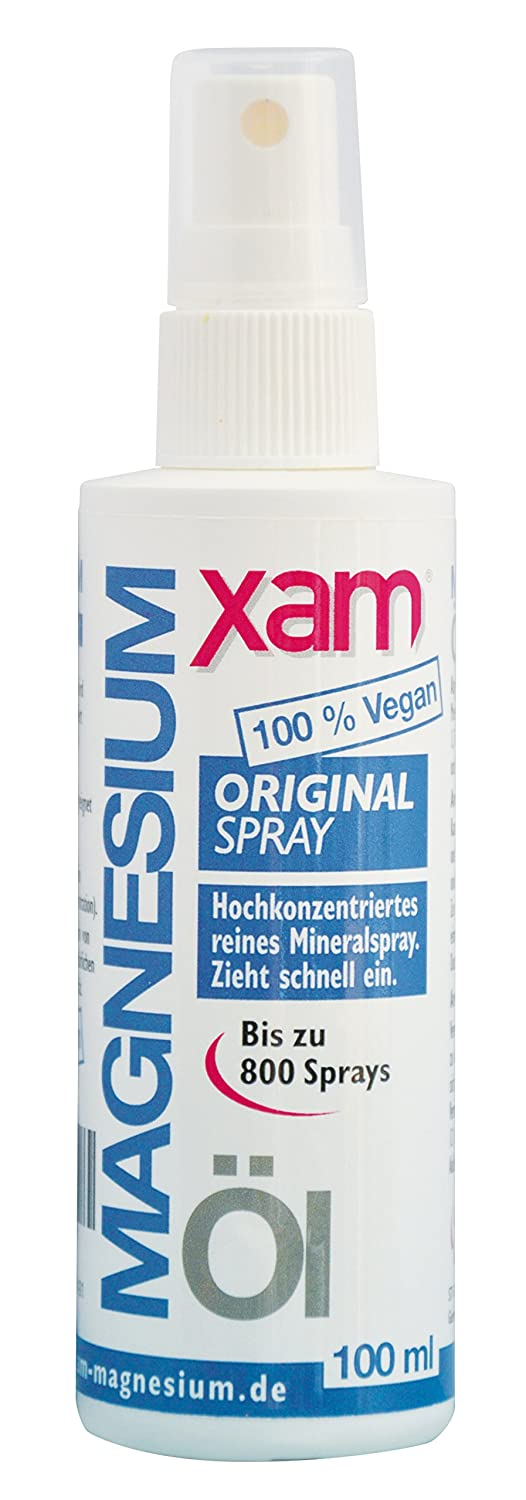 xam magnesiumöl Original Spray 100 ml magnsi umsole magnesiumoil Natural 31% Cloruro de magnesio: Amazon.es: Belleza