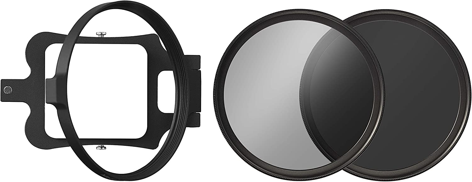 W filter kit for GoPro Hero 5/ including filter holders and Grey Filter ND 0.9/ /& Outdoor Circular Polarising Filter B