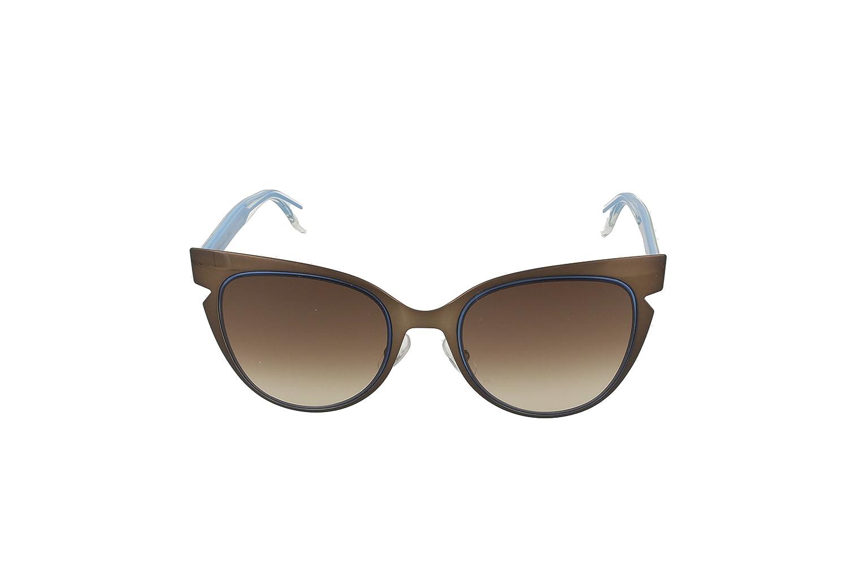 Womens Ff 0133/S Jd Sunglasses, Dark Brown Cryal, 52 Fendi