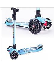 modell A In Blau Sport kinderscooter Dreirad Mit Verstellbarem Lenker Kinderroller R GüNstigster Preis Von Unserer Website