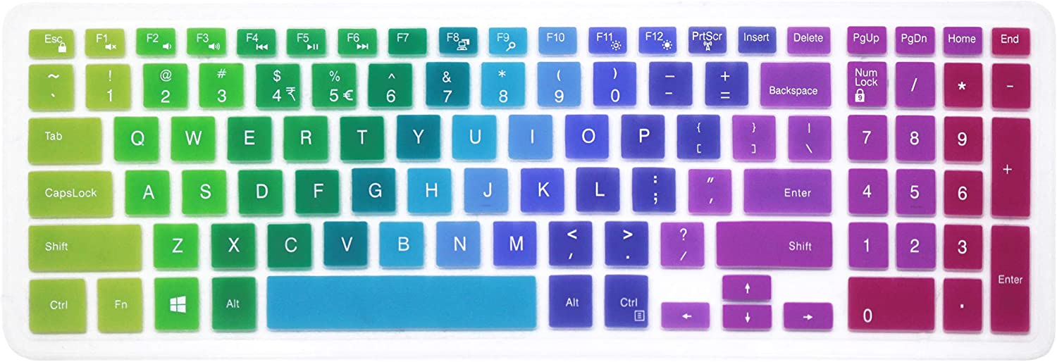Silicone Dell Keyboard Cover for 15.6
