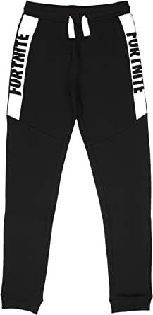 Fortnite Pantalones Sweatpants, Blanco/Negro