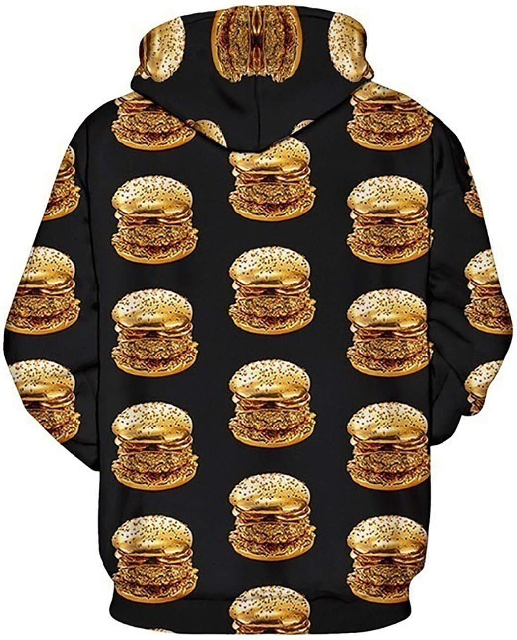 JUNG KOOK Men Women Funny 3D Digital Printing Hoodie Ramen Donut Sweatershirt Sweater Coat