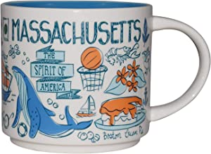Starbucks Been There Series Collectible Coffee Mug (Massachusetts)