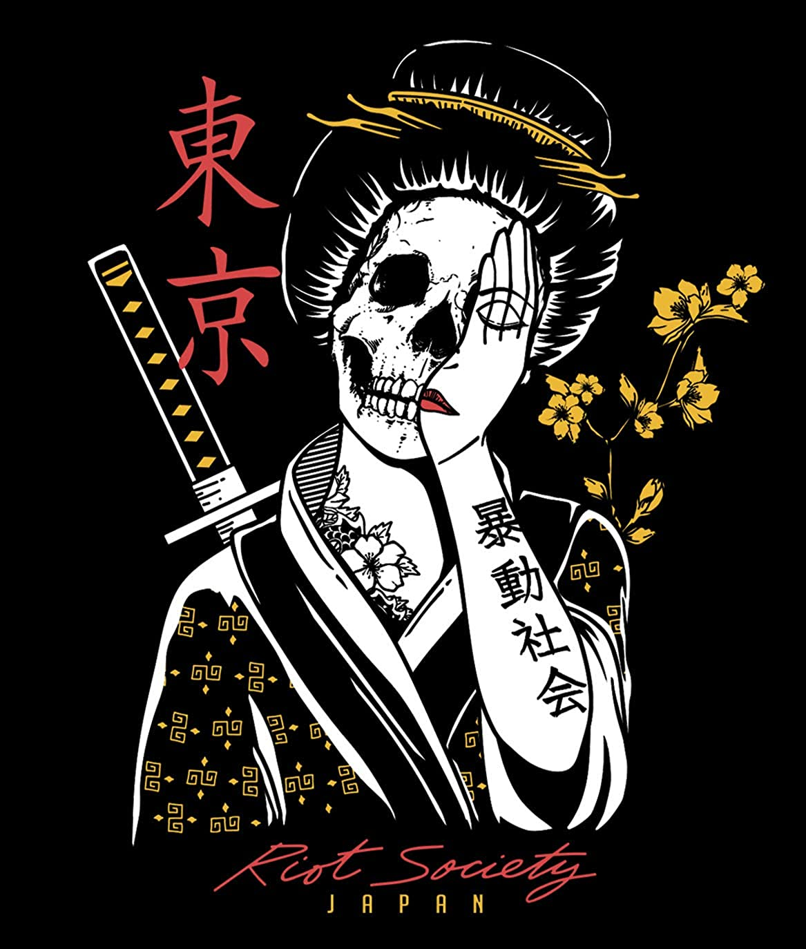 Riot Society Mens Short Sleeve Graphic Fashion T-Shirt