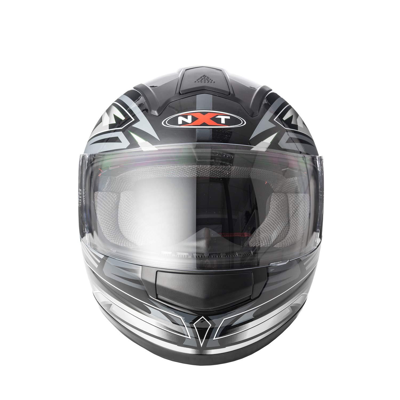 Neu hochklappen Motorradhelm Vollvisierhelm Vollgesichtshelm Roller Helm f/ür Herren Damen MXT Integralhelm Motorradhelm Motorrad Vollvisierhelm Klapphelm hochklappen Grobe Large