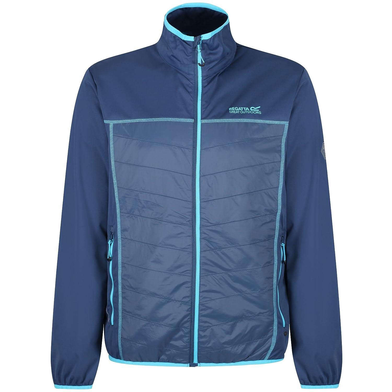 Men Jacket Regatta Lightweight Softshell Walson Hybrid Outdoor Hiking Camping