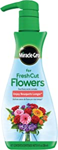 Miracle-Gro for Fresh Cut Flowers, 8 oz., For All Bouquets and Cut Flowers