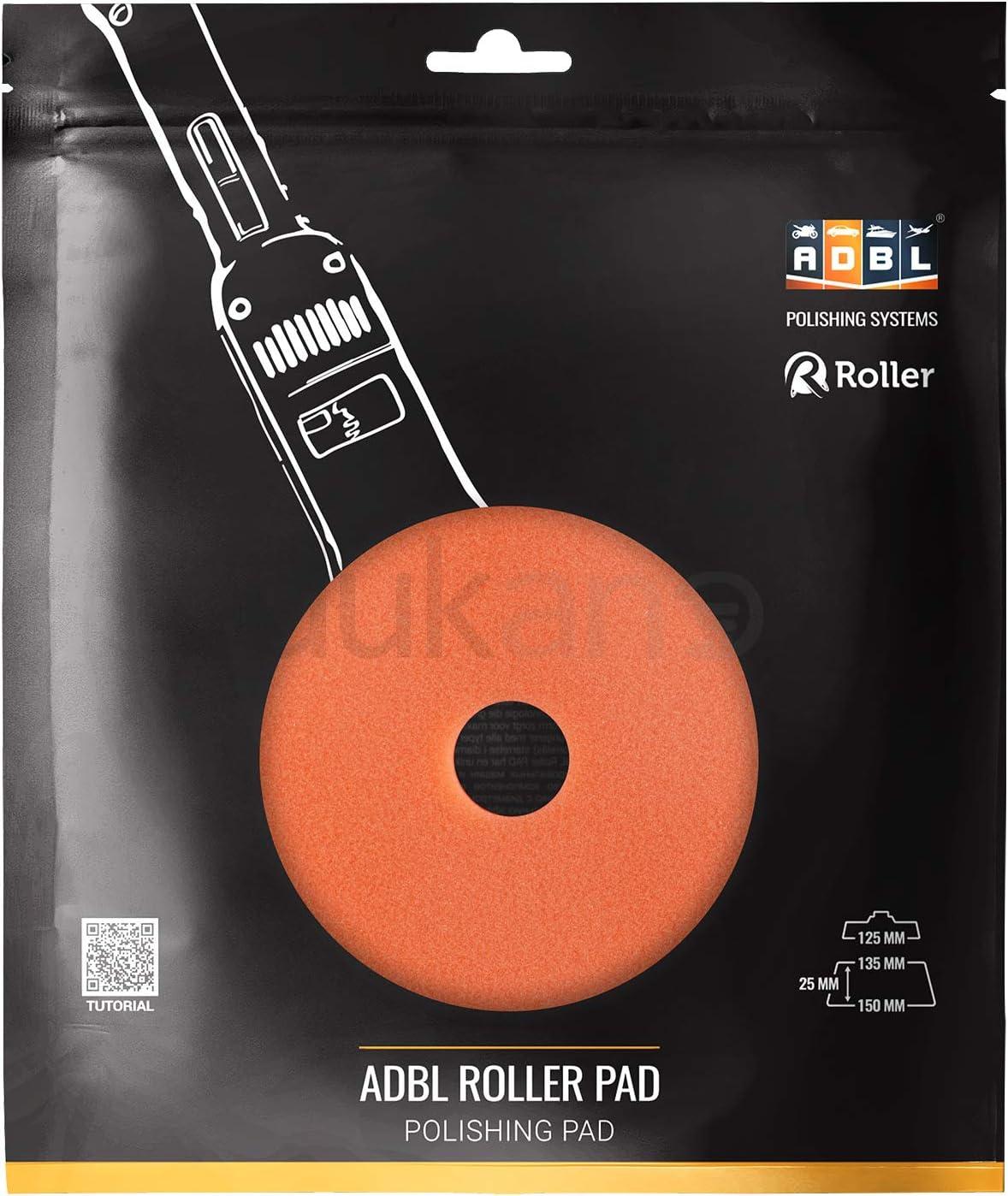 ADBL ROLLER PAD R Cut Polierpad weiss