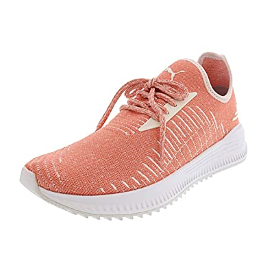 PUMA Womens Avid Evoknit Running Casual Athletic Shoes | Road Running