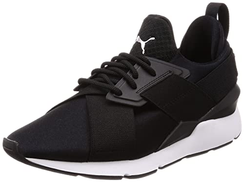 7ec66d63f75712 Puma Women s Muse Satin Ep WN s Low-Top Sneakers Black  Amazon.co.uk ...