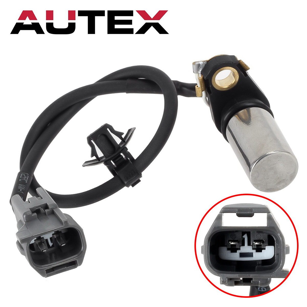 AUTEX Crankshaft Position Sensor PC406 compatible w/ 02-11 Toyota Camry 09-10 Corolla 01-07 Highlander 09-13 Matrix 01-08 RAV4 02-08 Solara 10-12 Lexus HS250h 09-10 Pontiac Vibe 05-10 Scion tC 2014 xB by AUTEX