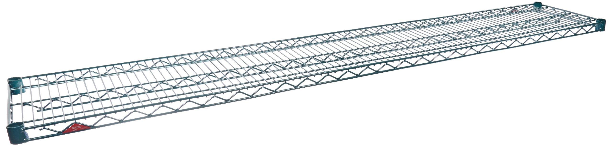Metro 1472NK3 Super Erecta Metroseal 3, Steel Wire Shelf with Microban, 600 lb. Capacity, 1'' Height x 72'' Width x 14'' Depth (Pack of 2)
