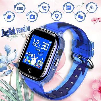 Smartwatch para niños, resistente al agua, reloj inteligente para ...
