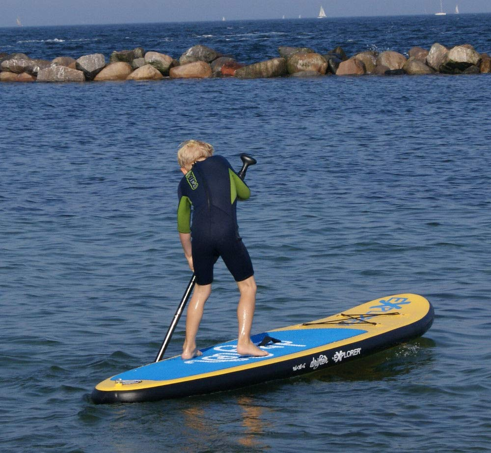 Explorer Sup Drifter 290 x 75 x 10 cm Inflatable ISUP hinchable de aluminio Remo Stand Up Paddle Board Set Bomba Tabla de Surf Aqua Remo Set: Amazon.es: ...