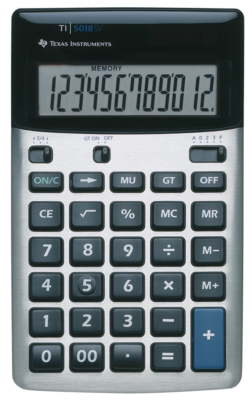 TI-5018 Desktop Calculator TEXAS INSTRUMENTS TI5018