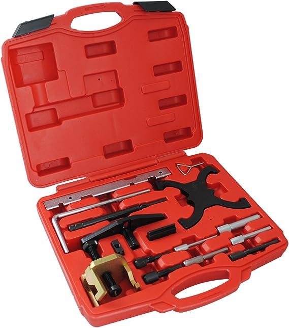 Cclife Motor Einstellwerzeug Arretierung Steuerzeiten Wechsel Werkzeug Diesel Benzin Kompatibel Mit Psa Ford 1 25 1 4 1 6 1 7 1 8 2 0 Tdci Auto