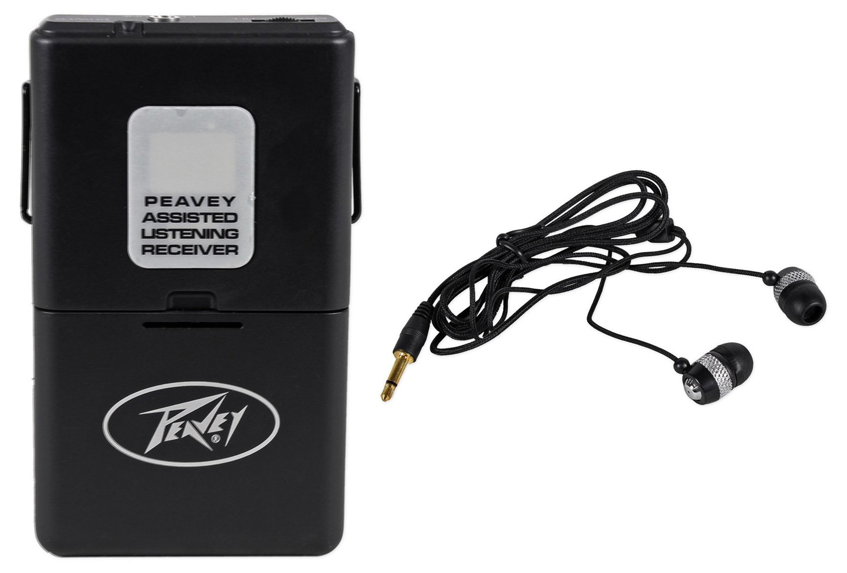 Peavey ALSR 75.9 Mhz Assisted Listening Receiver Body Pack ALSR75.9 + Earbuds