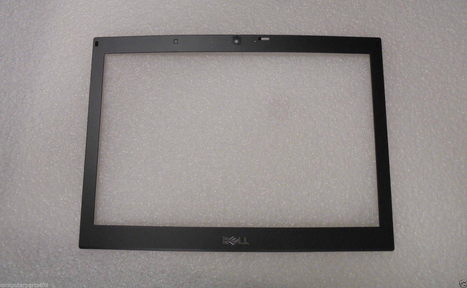 NEW Genuine OEM DELL Latitude E6410 14.1 Inch Display Screen Black Front Frame Housing Cover Enclosure Trim Bezel W/Web Camera Port Hole LCD BEZEL DJWJD