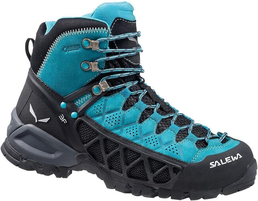 SALEWA WS ALP Flow Mid GTX, Botas de Senderismo para Mujer: Amazon.es: Zapatos y complementos