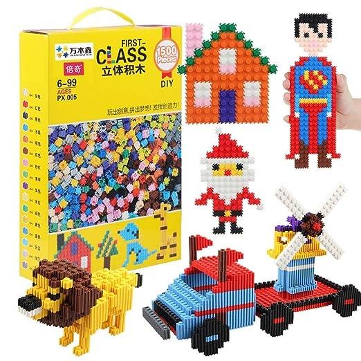 MEILA Manual de Bloques de Juguete for niños 3-6 años de ...