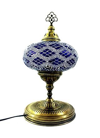 Turco con motivos orientales Asia mesa hecha a mano mosaico ...