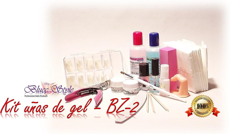 Kit para hacer las uñas de gel-BZ2- Manicura, pediicura,gel uv