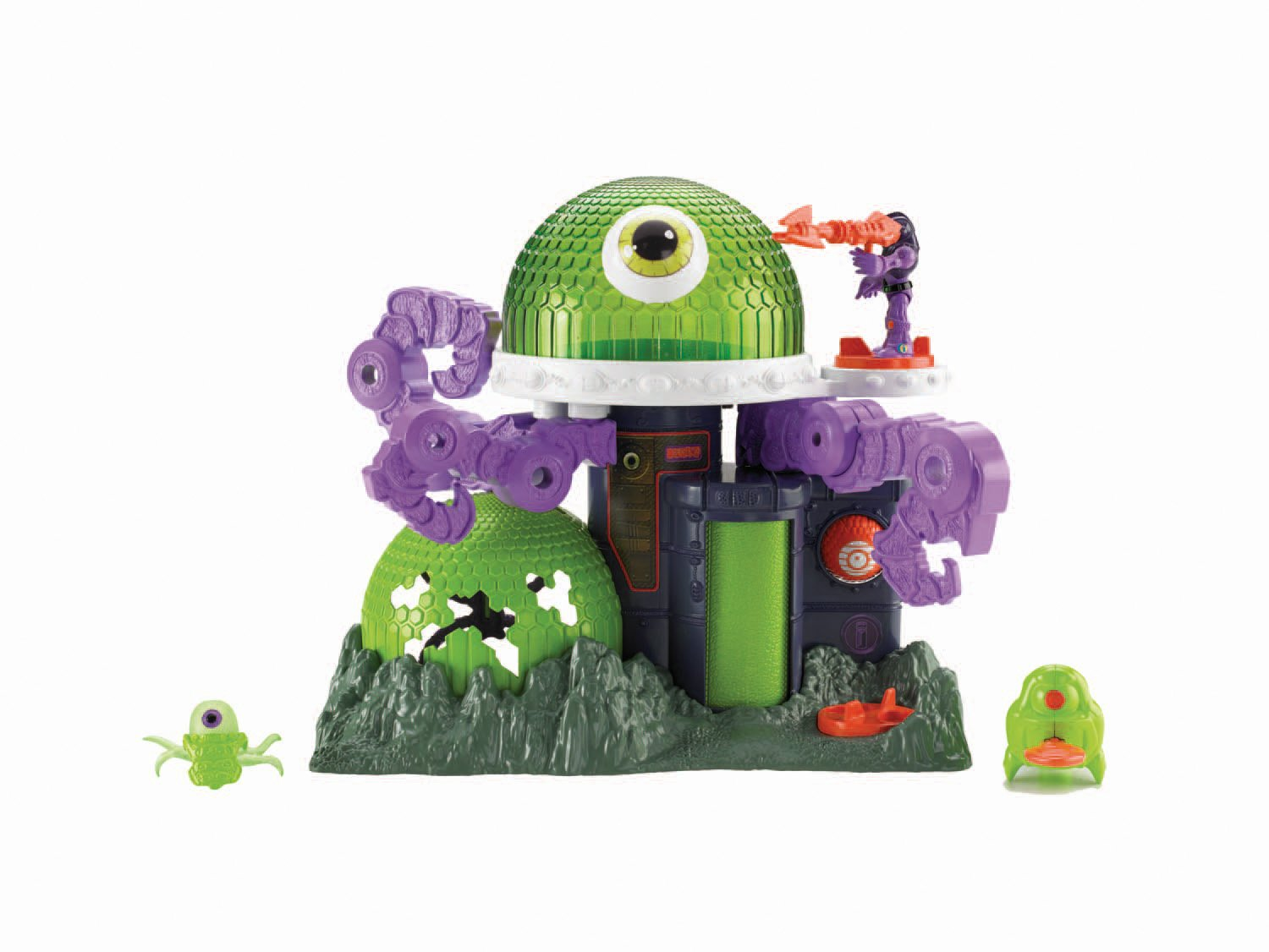 Fisher-Price Imaginext Ion Alien Headquarters Fisher Price CCH64