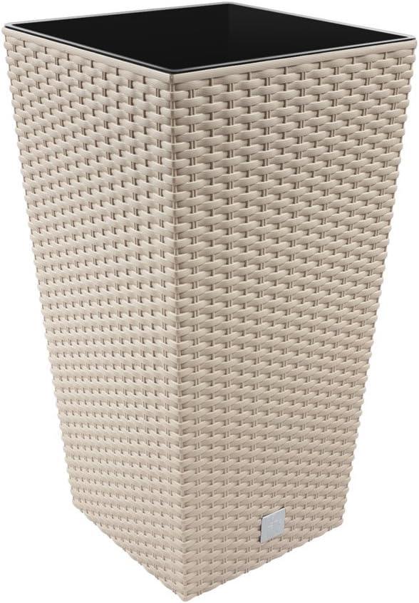 mokkafarben /Maceta Cuadrada Rato 12/Unidades 20/x 20/x 37,6/cm /7529u/ . Unbekannt Prosperplast drts200/
