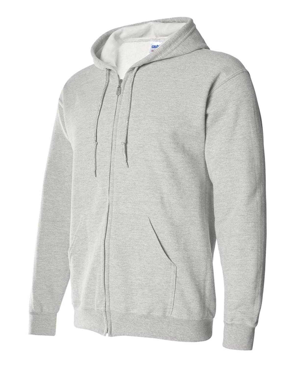 Gildan mens Heavy Blend 8 oz. 50/50 Full-Zip Hood(G186) at Amazon ...