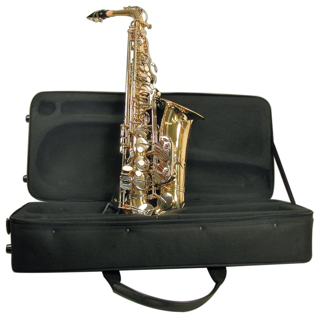 Mirage SX60A Polished Brass Alto Sax with Case